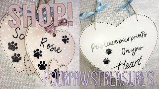 NEW SHOP! FourPawsTreasures!