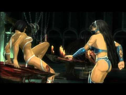 MK9 story mode Chapter 9: Kitana cutscenes