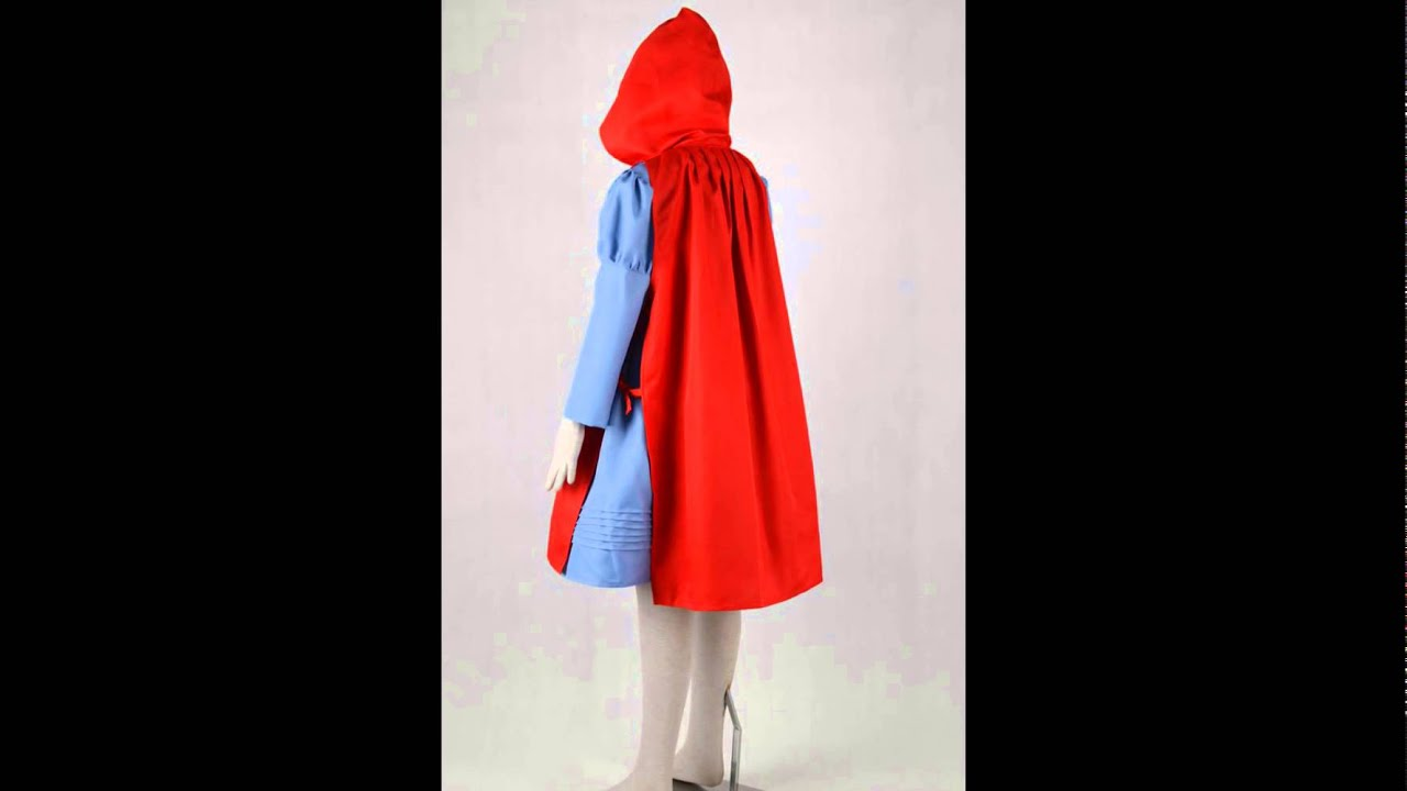 Little Red Riding Hood Costume From Into The Woods Cosplay Youtube