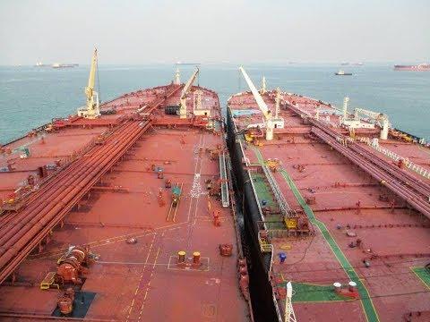 How it looks inside Crude Oil Tanker - On board Video Tour