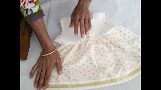 Baby frock cutting and stitching video in hindi