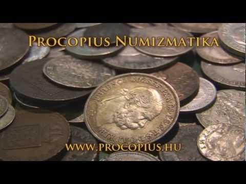 Procopius Numizmatika Érmebolt reklám film
