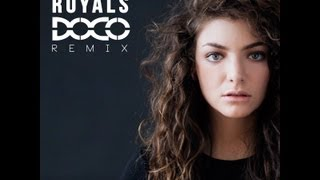 Download Lorde - Royals (DOCO Remix) MP3 song and Music Video