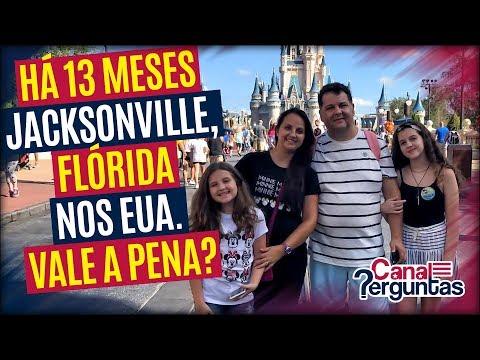 🔴[AO VIVO] Há 13 meses em Jacksonville, Flórida. Ainda vale a pena morar nos EUA? ✔