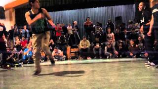 Exhibition 2vs2 B-Girl Battle Trinity Hip Hop Festival 2012