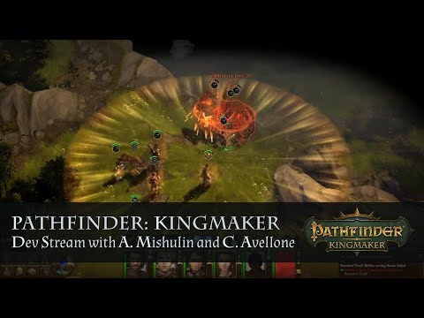 Pathfinder: Kingmaker. Dev stream with A. Mishulin and C. Avellone