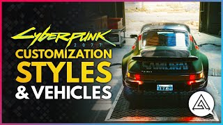 CYBERPUNK 2077 | Customization, Cosmetic Styles & Personal Vehicles