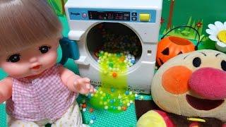 メルちゃん アンパンマン おもちゃ 洗濯機 スライム ビーズ スーパーボール♡アンパンおねえさん♡ thumbnail