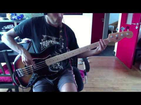 Maceo Parker - Sing A Simple Song - Bass Cover