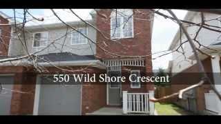 550 Wild Shore Crescent, Riverside South, Ottawa - Video Tour