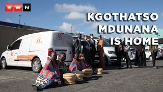 The remains of 24-year-old South African student Kgothatso Mdunana arrived home from China on 7 June 2021 after a lengthy and tumultuous repatriation process. Mdunana fell to her death from a building in Hangzhou in April while visiting a friend.  #KgothatsoMdunana #Repatriation #ChinaStudent
