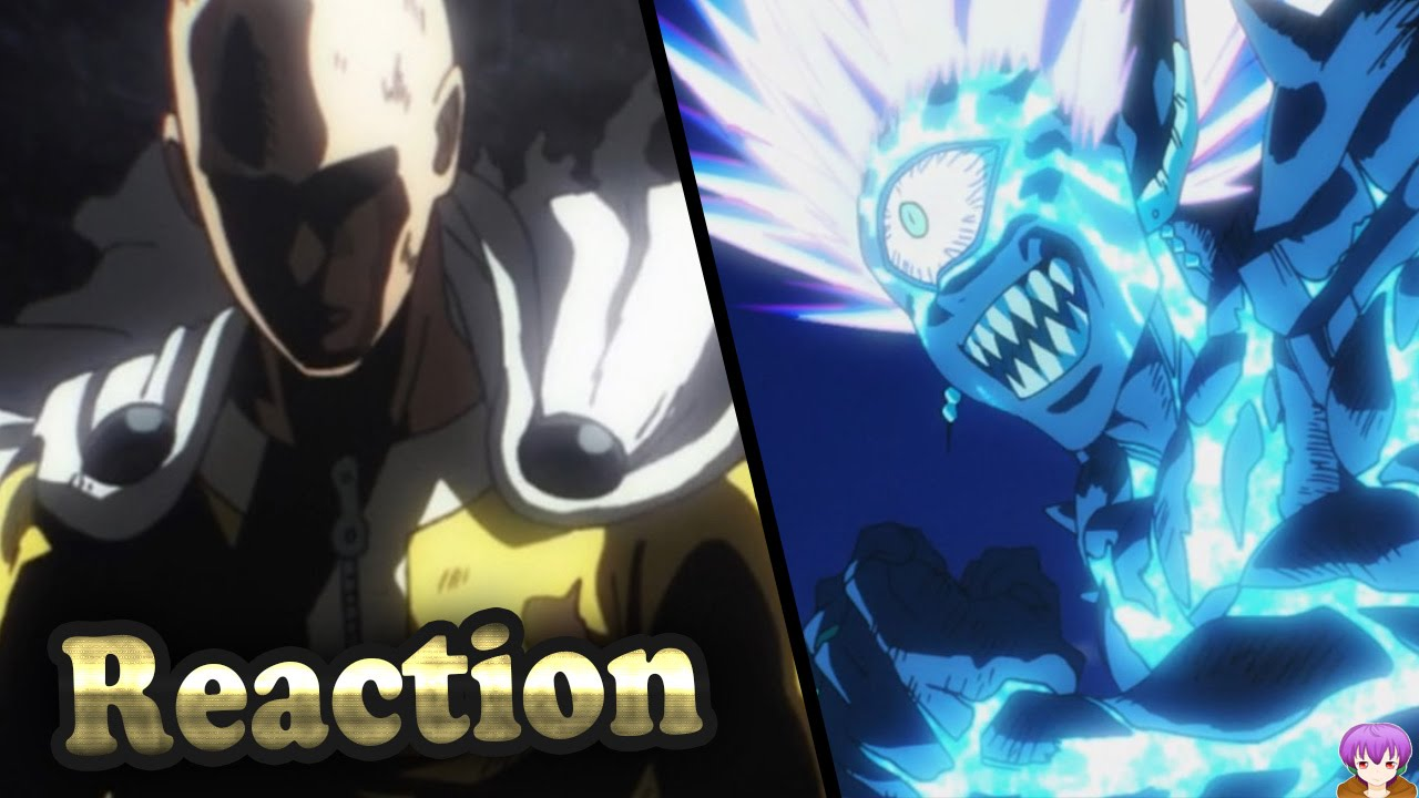 One Punch Man Episode 12 Live Reaction - Boros vs Saitama ワンパンマン