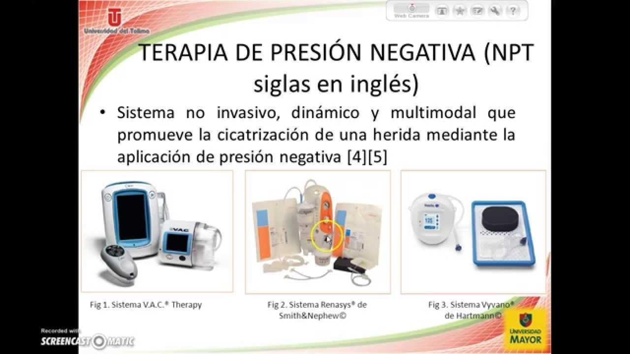Terapia de presión negativa. Revisión bibliográfica - YouTube