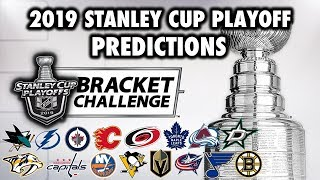 2019 Stanley Cup Playoff Predictions