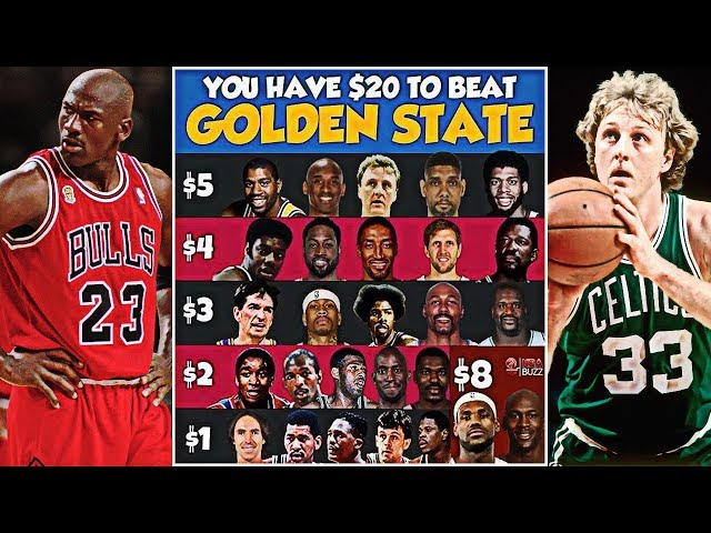 You Have $20 To Beat The Golden State Warriors