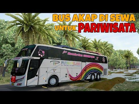 KUNJUNGAN INDUSTRI KE JAWA MALAH BEGINI JADINYA........   ets2 Mod bus Indonesia