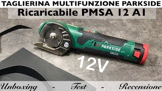 Rechargeable multifunction cutter. Parkside lidl. PMSA 12 a1. 12V battery. As for the GUS 12V-300