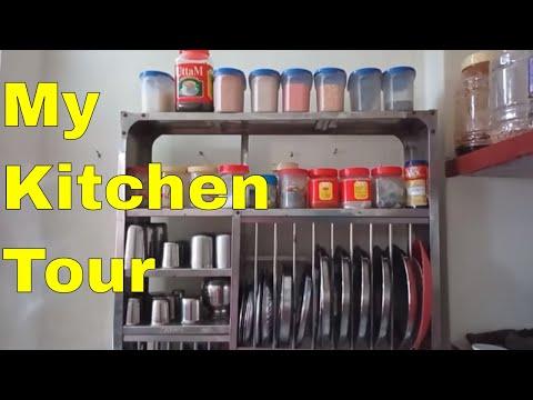 Kitchen Tour/Small Kitchen Tour/Quick Indian Kitchen Tour /Indian Organised kitchen ideas in hindi