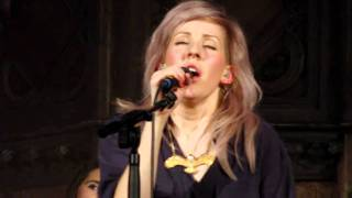 "Ellie Goulding sings ""Lights""  at Little Noise Sessions,  Union Chapel 20th November 2010"