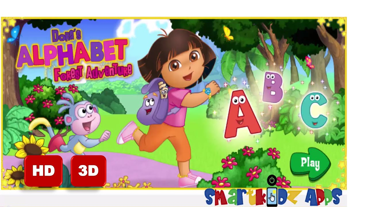 Abc Song With Dora The Explorer And Boots In Dora S