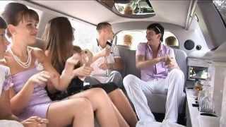 свадьба катание на лимузине