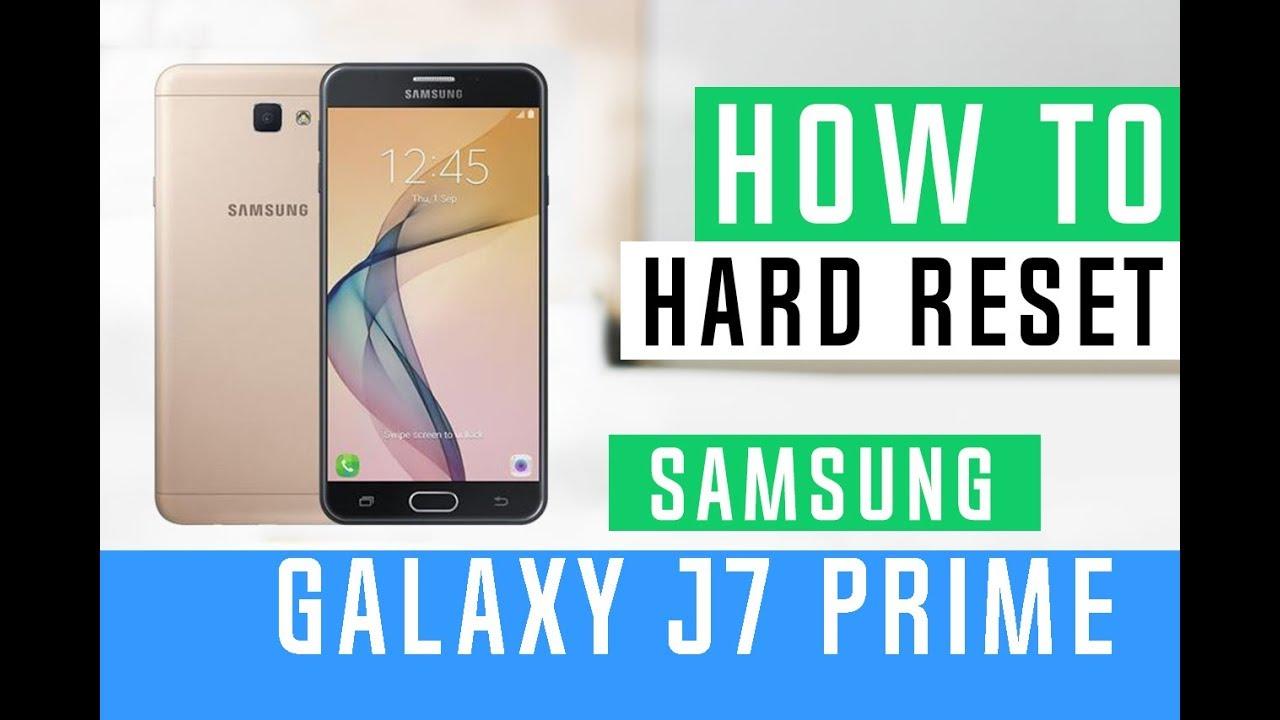 How To Hard Reset Samsung Galaxy J7 Perx J727P - Swopsmart