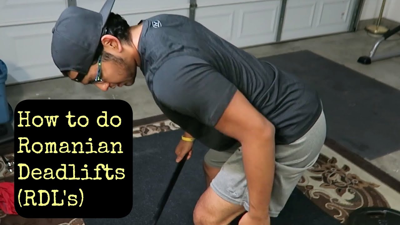 How to do romanian deadlifts rdls with proper form youtube how to do romanian deadlifts rdls with proper form falaconquin