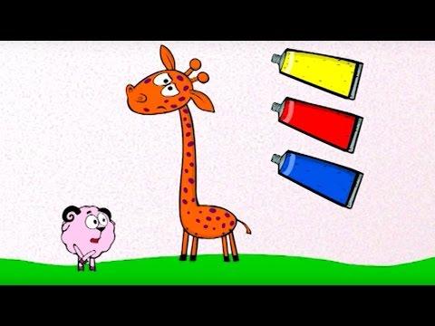 ❗❓Наука для детей Как смешивать цвета | Смешарики Пин-код Суперстирка