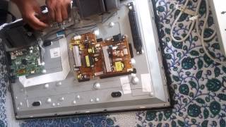 Lg tv 32ln5650 part 1(No picture only sound) Repair