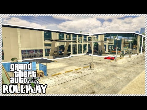 GTA 5 ROLEPLAY - Visiting HUGE New Expensive Car Garages | Ep. 335 Civ
