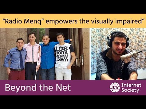 Radio MENQ - The Internet Station For The Blind Of Armenia