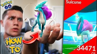 HOW TO: SUICUNE IN POKÉMON GO! BEST STRATEGY TO GET LEGENDARY SUICUNE!