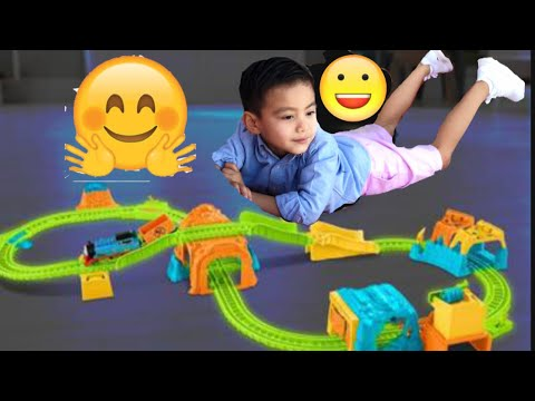 Glow In The Dark Thomas & Friends Track Master/glowing Mine Set!
