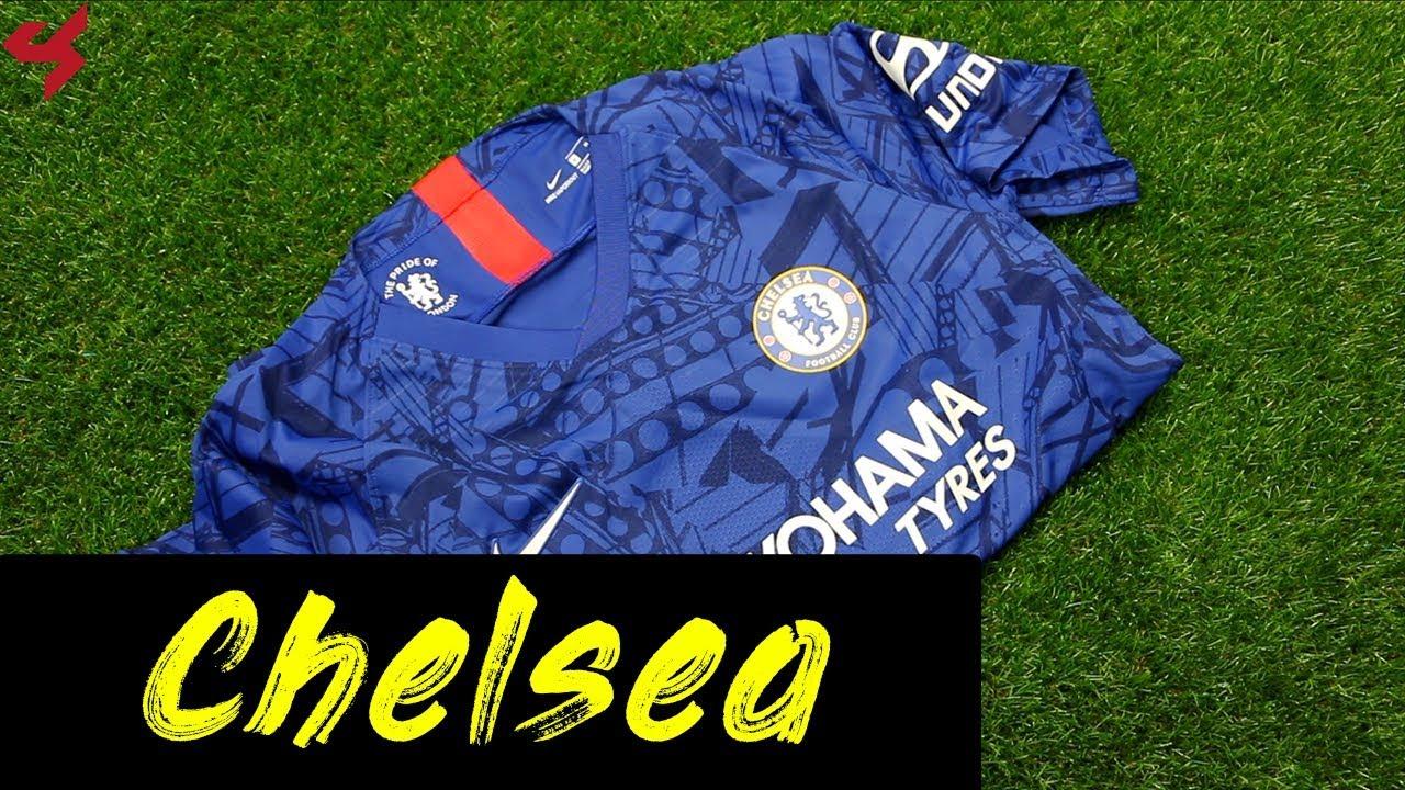 Nike Chelsea 2019 20 Jorginho Vapor Home Soccer Jersey Unboxing Review Youtube