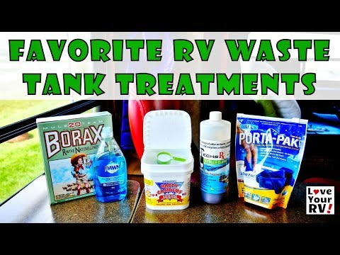 Favorite RV Waste Tank Treatments from Love Your RV!