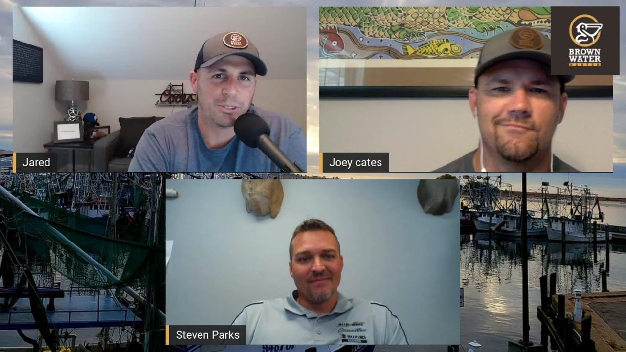 Brown Water Banter Ep 60| Steven Parks from Blue Wave Boats #brownwaterb