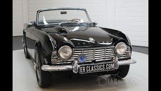 Triumph TR4 Overdrive 1963 -VIDEO- www.ERclassics.com
