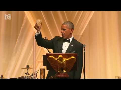 Obama's toast to Italy's PM