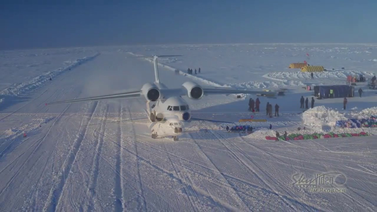 Air Operations at Ice Camp Barneo - YouTube