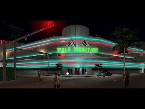 The Pole Position Club: Location Tour, Hangout, & Shootout. Vice City.