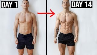 14 DAY FAT LOSS TRANSFORMATION  **from lean to shredded**