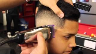 Mid Fade x Comb Over
