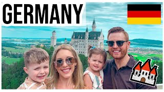 MY FIRST TIME IN GERMANY! 🇩🇪 Travel with our Young Family to Fairytale Castles & Munich | Vlog