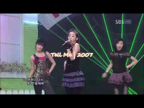 WONDER GIRLS  Sohee | Live Vocal 2007-2013