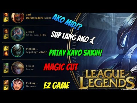 FILIPINO YOUTUBERS FUNNY MOMENTS (LEAGUE OF LEGENDS)
