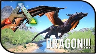 Killing the Dragon in survival of the fittest ARK