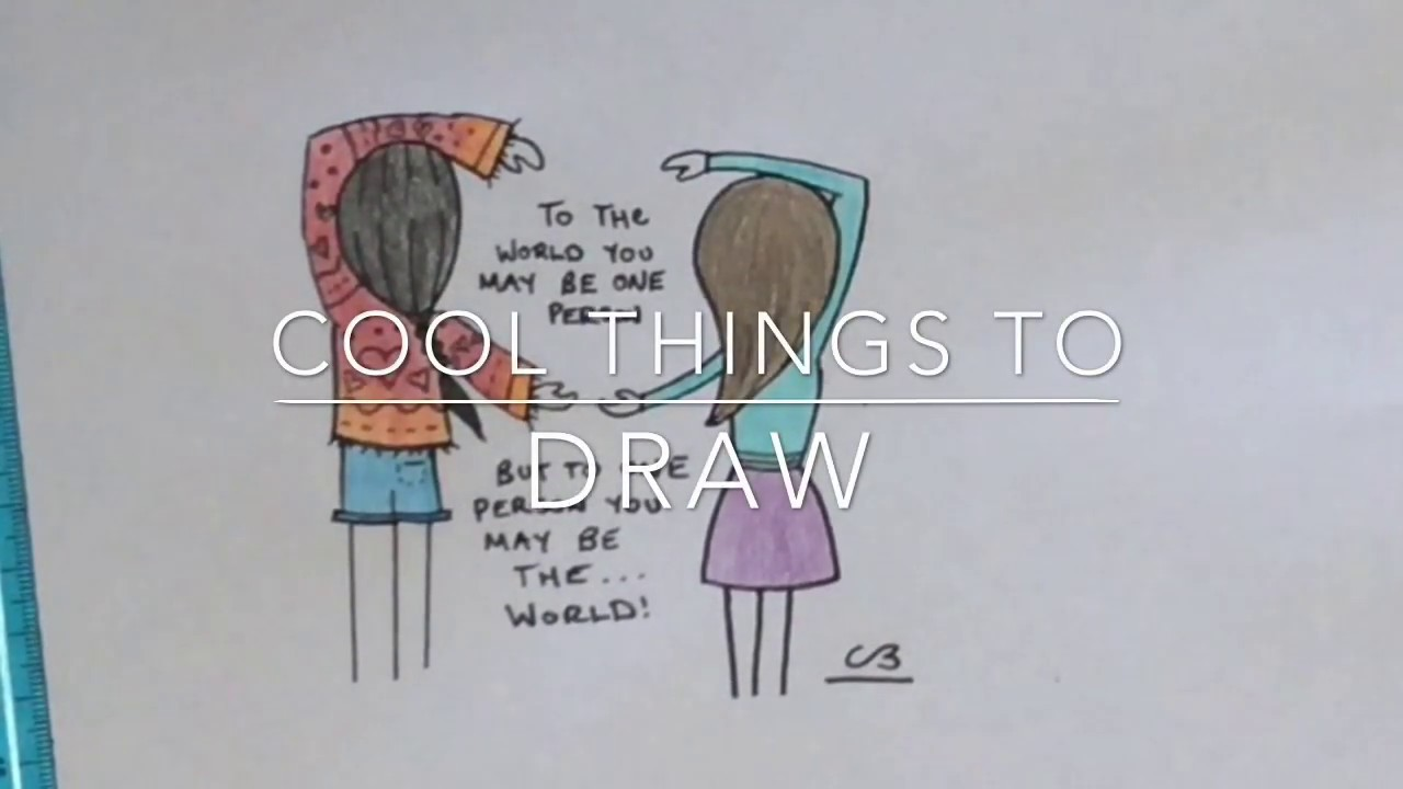Cool Things To Draw Best Friends