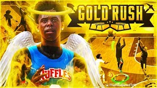 I took my Sharpshooting Shotcreator to the GOLD RUSH Event....I destroyed everyone 😳 - NBA 2K19