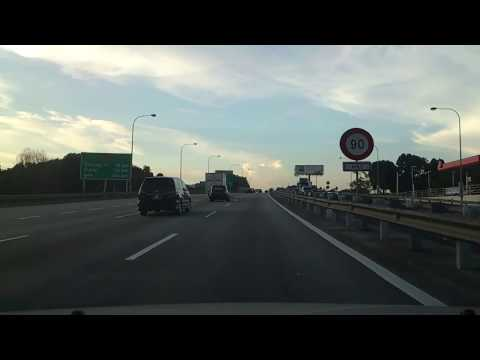 Driving from Putrajaya/Cyberjaya to Ara Damansara through ELITE and NKVE, Xperia S