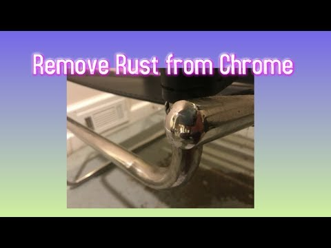 How to Remove Rust from Chrome & Stainless Steel *DIY CHEAP EASY 10 MINUTE FIX